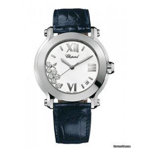 Chopard [NEW] Happy Sport II Round 278475-3001 (Retail:HK$54,000)