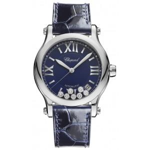 Chopard 全新 278559-3008 Happy Sport Medium Automatic 36mm Ladies Watch