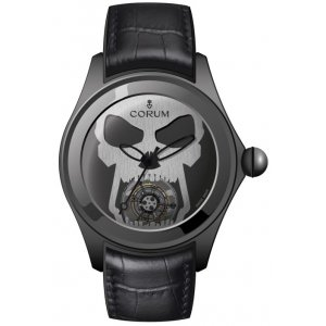 CORUM [NEW][LIMITED 9] BUBBLE SKULL TOURBILLON (Retail:US$89,900)