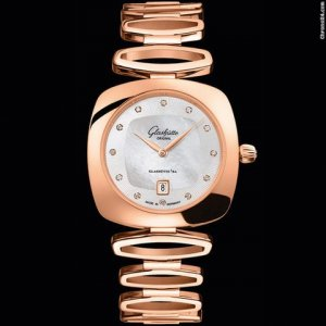 Glashutte Original [NEW] Pavonina Quartz Ladies Watch 03-01-08-05-14 (Retail:HK$235,500)