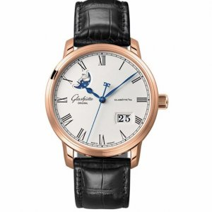 Glashutte Original [NEW] Senator Panorama Date Moonphase 100-04-32-15-04 (Retail:US$23,900)