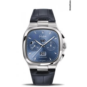 Glashutte Original [NEW] Seventies Chronograph Panorama Date 1-37-02-03-02-30 (Retail:HK$127,500)