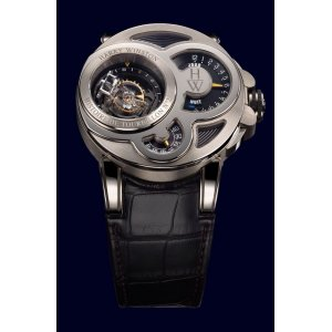 Harry Winston [NEW] Histoire de Tourbillon 2 limited edition manual 18K white gold timepiece