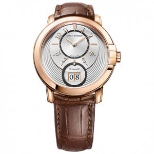 Harry Winston [NEW] Midnight Big Date 42mm automatic 18K rose gold MIDABD42RR005