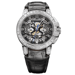 Harry Winston [NEW] Ocean Chronograph Automatic 44mm OCEACH44WW001 (Retail:US$119,800)