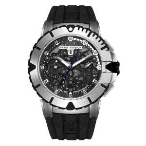 Harry Winston [NEW] Ocean Sport™ Chronograph automatic zalium OCSACH44ZZ001