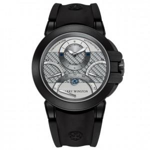 Harry Winston [NEW] Ocean Triple Retrograde Chronograph automatic zalium black DLC OCEACT44ZZ006