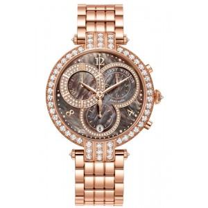 Harry Winston [NEW] Premier chronograph 40mm quartz 18K rose gold PRNQCH40RR006
