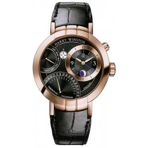 Harry Winston [NEW] Premier Perpetual Calendar limited edition automatic 18K rose gold PRNAPC41RR001
