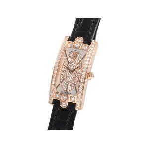 HARRY WINSTON [全新] AVCQHM16RR045 Avenue C Mini  18K rose gold (Retail:US$23,700)
