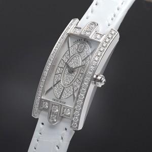 Harry Winston [全新] AVCQHM16WW052 The Avenue Collection Avenue C™ Mini (Retail:US$24,700)