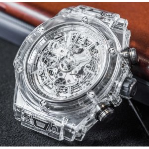 Hublot [NEW] Big Bang Unico Sapphire Limited Edition 411.JX.4802.RT (Retail:HK$463,900)