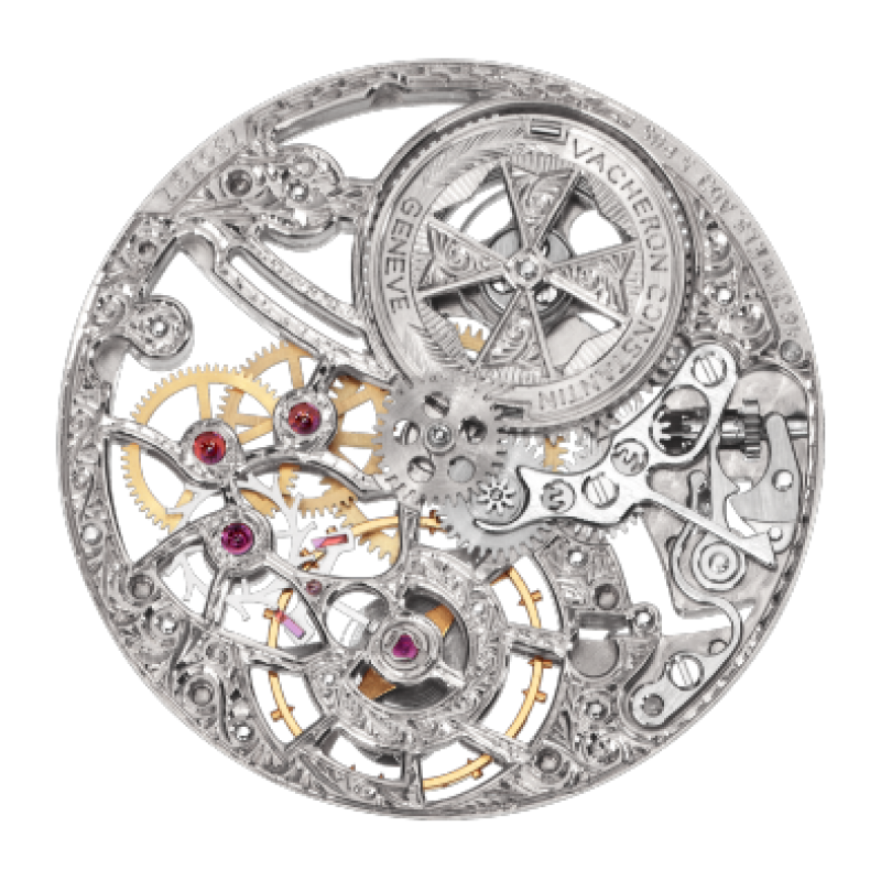 Vacheron Constantin [NEW] Traditionnelle Openworked Manual Wind 30mm Ladies 33558/000G-9394 (Retail:HK$492,000)