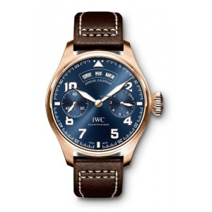 IWC [NEW] Big Pilot Midnight Blue Dial Automatic Mens IW502701