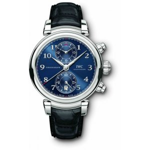 IWC NEW Da Vinci Chronograph Edition ''Laureus Sport for Good Foundation'' IW393402 LTD 1500 (Retail: HK$99,689)