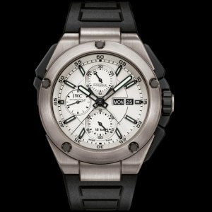 IWC [NEW] IW386501 Ingenieur Double Chronograph Silver(Retail:HK$98,500)