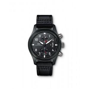 IWC [NEW] IW388001 Pilot's Chronograph TOP GUN Mens (List Price:HK$94,000)