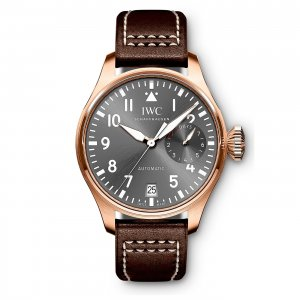 IWC NEW IW500917 Big Pilot Spitfire Slate Grey Dial Automatic Mens Watch