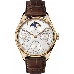 IWC [NEW] IW502306 Portuguese Perpetual Calendar Moonphase Rose Gold (Retail:HK$308,000)