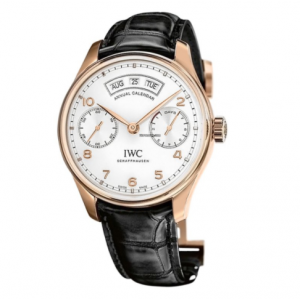 IWC NEW IW503504 Portugieser Annual Calendar Mens Watch