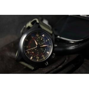 IWC [NEW] Pilots Anthracite Dial Chronograph Ceramic & Titanium IW388002