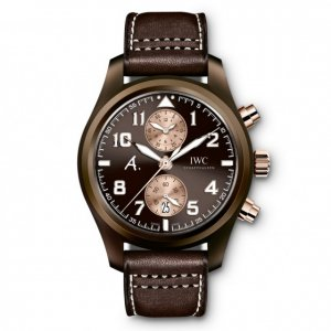 IWC NEW Pilots Chronograph Last Flight Brown Dial IW388006