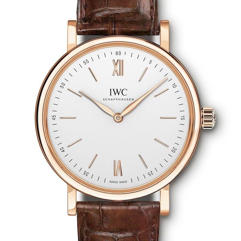 IWC [NEW] PORTOFINO 18K PINK GOLD WHITE MANUAL WIND IW511101 (Retail: HK$140,000)