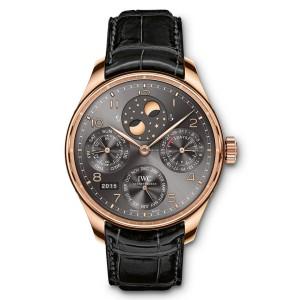 IWC [NEW] Portugieser Perpetual Calendar Perpetual Double Moonphase Mens IW503404 (Retail:HK$303,000)