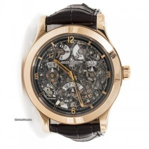 Jaeger-LeCoultre [NEW] Master Eight Day Perpetual Skeleton 1833 Q16124SQ