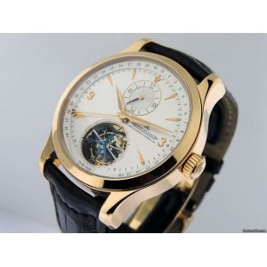 JAEGER LECOULTRE [NEW] Master Tourbillon Dual Time Rose Gold Q1562521 (Retail:EUR 79.000)