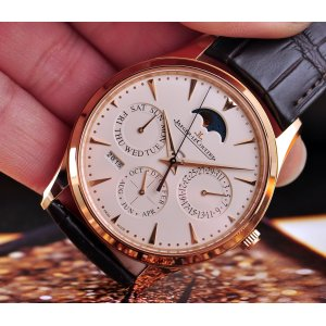 Jaeger-LeCoultre [全新] Q1302520 Ultra Thin Perpetual 39MM 18K Rose Gold (Retail: HK$236,272)