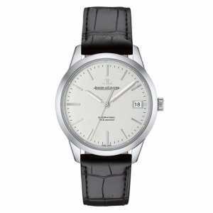 Jaeger LeCoultre [全新] Q8018420 Geophysic Date White Dial Mens Watch (Retail US$9,100)