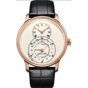 Jaquet Droz [NEW] Grande Seconde Dual Time 43mm Mens J016033200 (Retail:CHF 25,500)