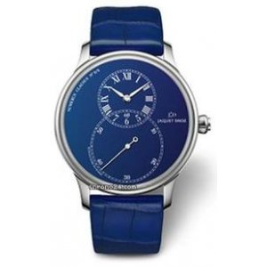 Jaquet Droz [NEW][LIMITED 8 PIECE][全新限量8支] BLUE ENAMEL PARIS J014014254 (Retail:CHF 23699)