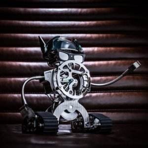 Mb&f [NEW][LIMITED 18 PIECE][限量18支] Bad Sherman Robot Clock (Retail: CHF 16,200)