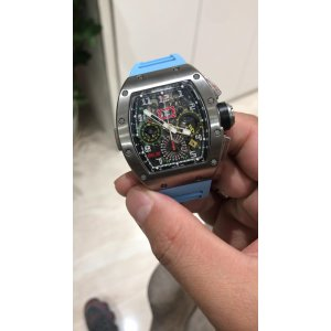 Richard Mille [2015 USED] RM 11-02 Ti GMT Flyback Chronograph Dual Time Zone