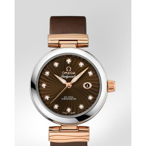 Omega [NEW] De Ville Ladymatic Co-Axial 34 mm 42522342063001 (List Price: HK $86,100)
