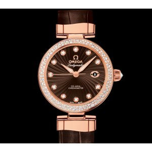 OMEGA [NEW] De Ville Ladymatic Co-Axial Red Gold 34mm 425.68.34.20.63.001 (Retail:HK$195,600)