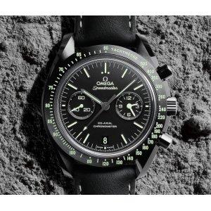 Omega [NEW] Speedmaster Dark Side of The Moon Pitch black 44.25mm (Retail:HK$101,100)