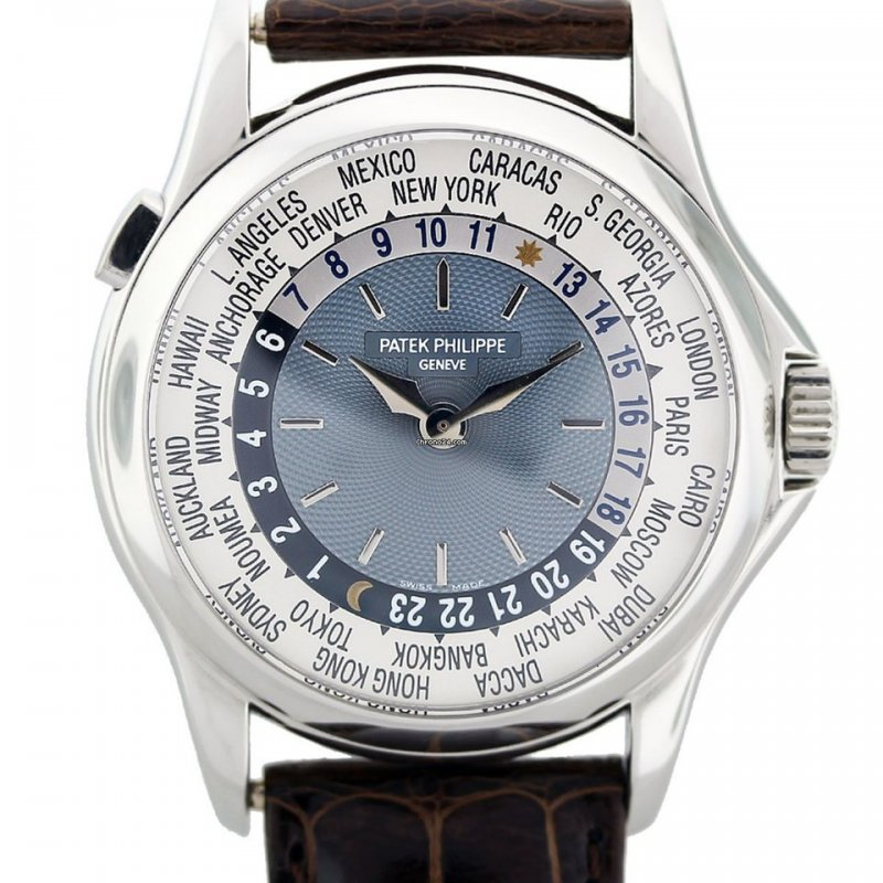 Patek Philippe [MINT 2005'] 5110P-001 World Time Platinum