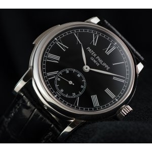 Patek Philippe [MINT 2013'] Minute Repeater Black Dial 5078P-010