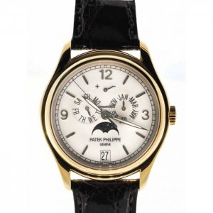 Patek Philippe [NEW] 5146J complicated watch annual calendar Yellow Gold 39mm (Retail:HK$296,200)