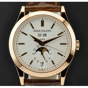 Patek Philippe [NEW] 5396R-011 Rose Gold Complications (Retail:HK$333,800)