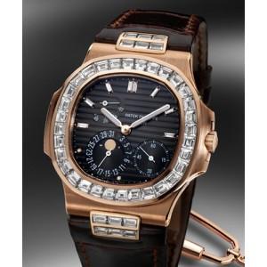 Patek Philippe [NEW] 5724R Grande Nautilus Baguette Diamond (Retail:HK$1,441,200)
