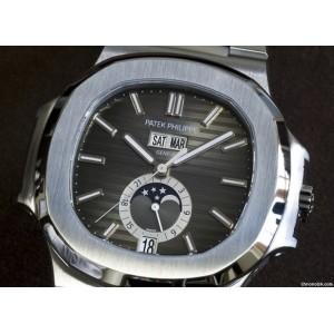 Patek Philippe [NEW] 5726/1A Nautilus Annual Calendar Moonphase Complication Steel (Retail:HK$331,000)