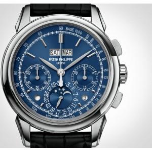 Patek Philippe [NEW] Blue WG Grand Complications Perpetual Calendar Blue Dial 5270G-014 (Retail:HK$1,144,100)