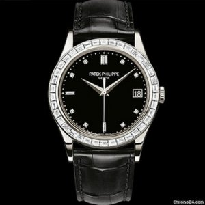 Patek Philippe [NEW] Calatrava 5298P-012 Automatic Platinum (Retail:HK$806,300)