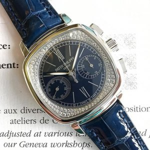 Patek Philippe [NEW] Complications Chronograph Ladies Watch 7071G-011 (Retail:HK$685,000)