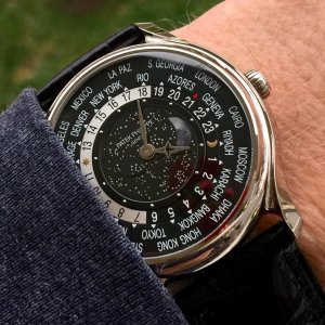 Patek Philippe [NEW-OLD-STOCK][LIMITED 1300][舊新貨限量1300支] 175th Anniversary Collection World Time Moon 5575G