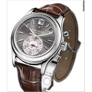 Patek Philippe [NEW] Platinum Annual Calendar Chronograph 5960P-001(Retail:HK$663,700) - DISCONTINUED!!